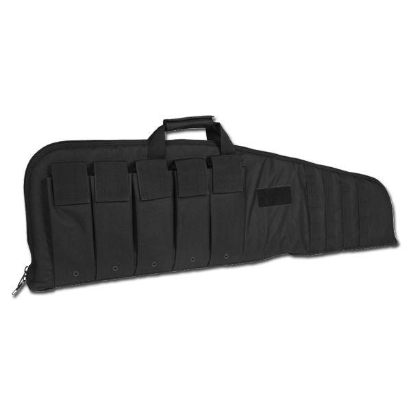 Rifle Case with Shoulder Strap black 100 cm