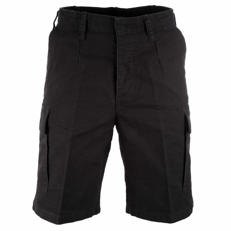 Moleskin Shorts Mil-Tec, black