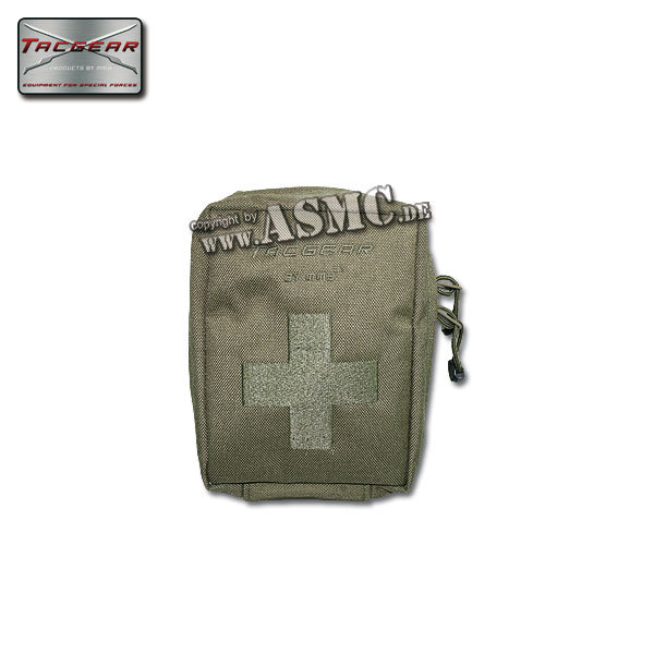 First Aid Pouch TacGear olive