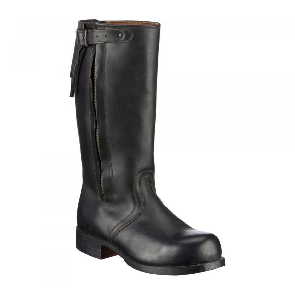 German Navy Boot with Fur Liner Like New