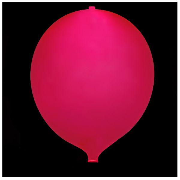 KNIXS Tac Balloon Red Blinking LED white
