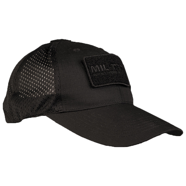 Baseball Cap with Mesh black