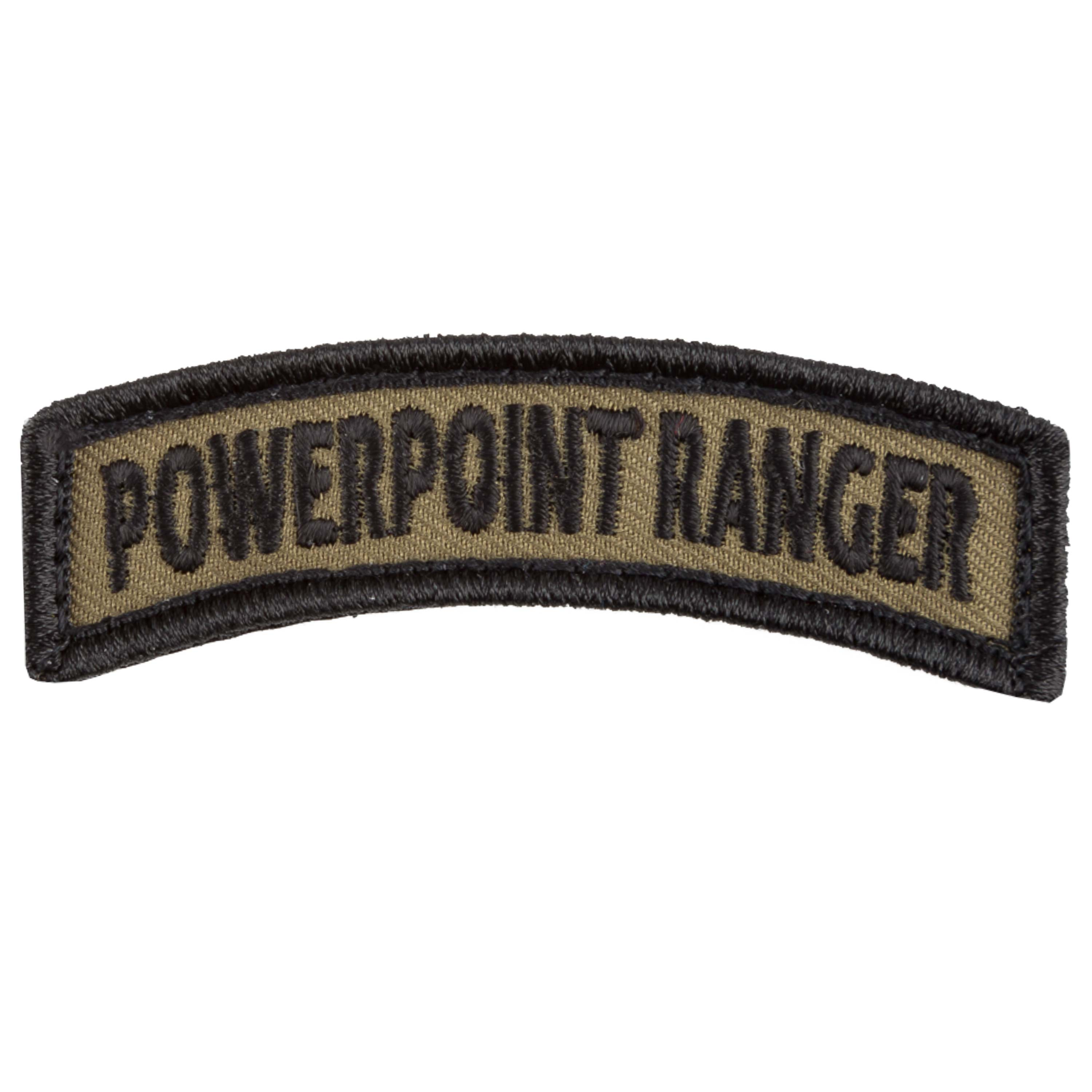 Café Viereck Shoulder Tab Patch PowerPoint Ranger