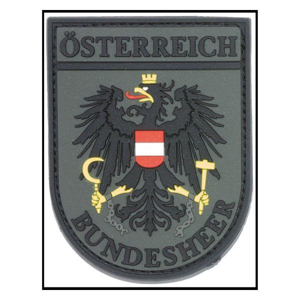 3D-Patch Arm Insignia Österreich Bundesheer olive drap fullcolor