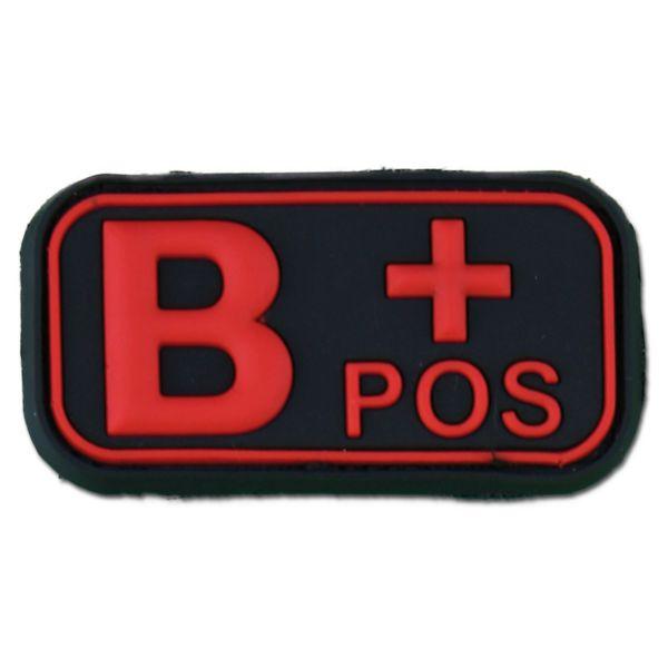 3D Blood Type B Pos blackmedic