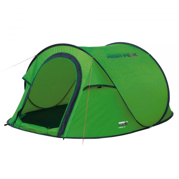 High Peak Popup Tent Vision 3 green phantom