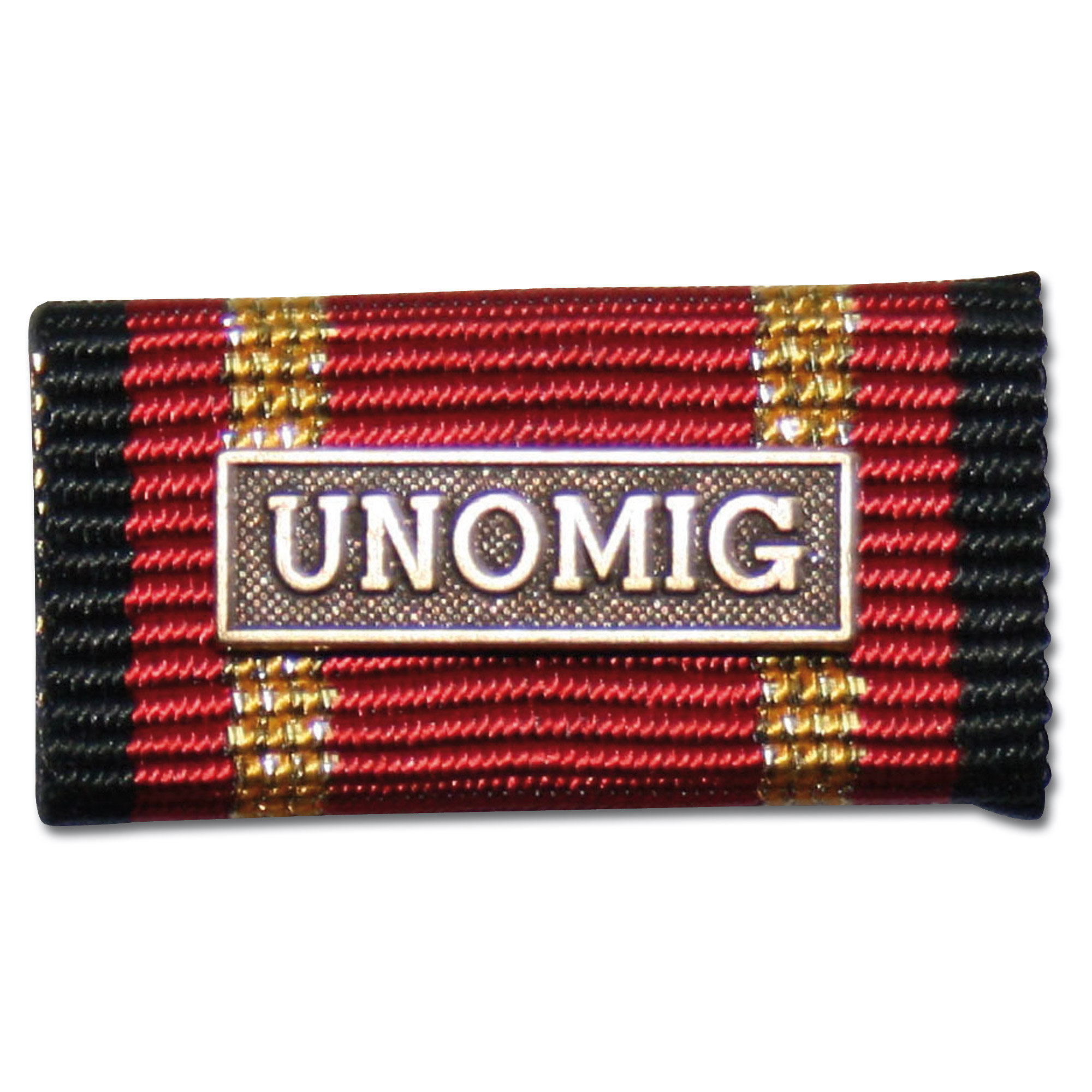 Service Ribbon Foreign Service UNOMIG bronze