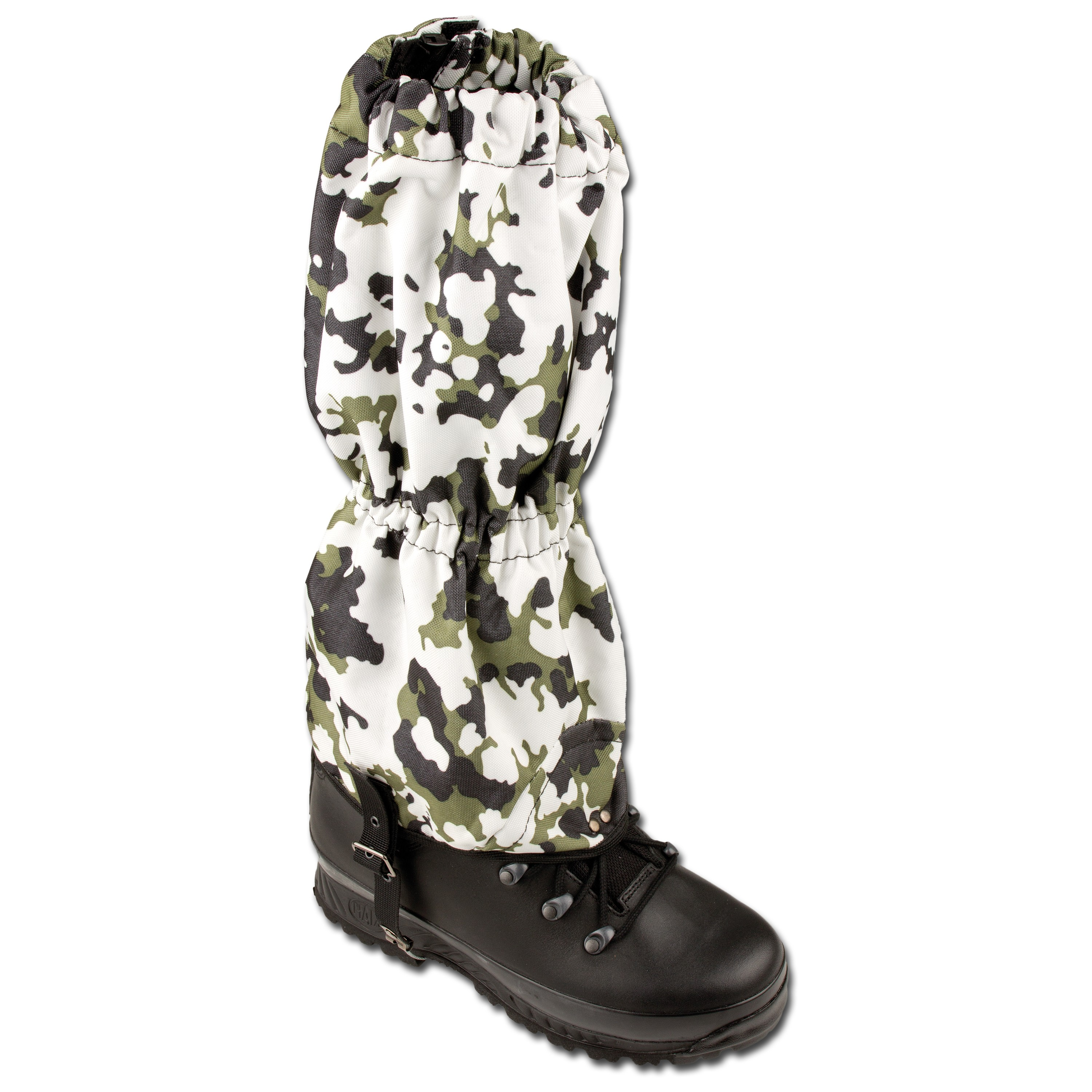 Wet Weather Gaiters with Steel Cable snow camo