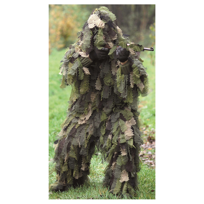 Ghillie Suit Oak Leaf 3D woodland