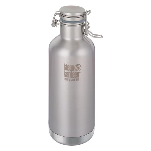 Klean Kanteen Drink Bottle Growler 946 ml Brushed Stainless