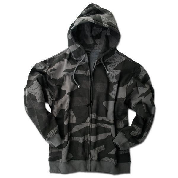 Hoodie Jacket Mil Tec splinter-night camo