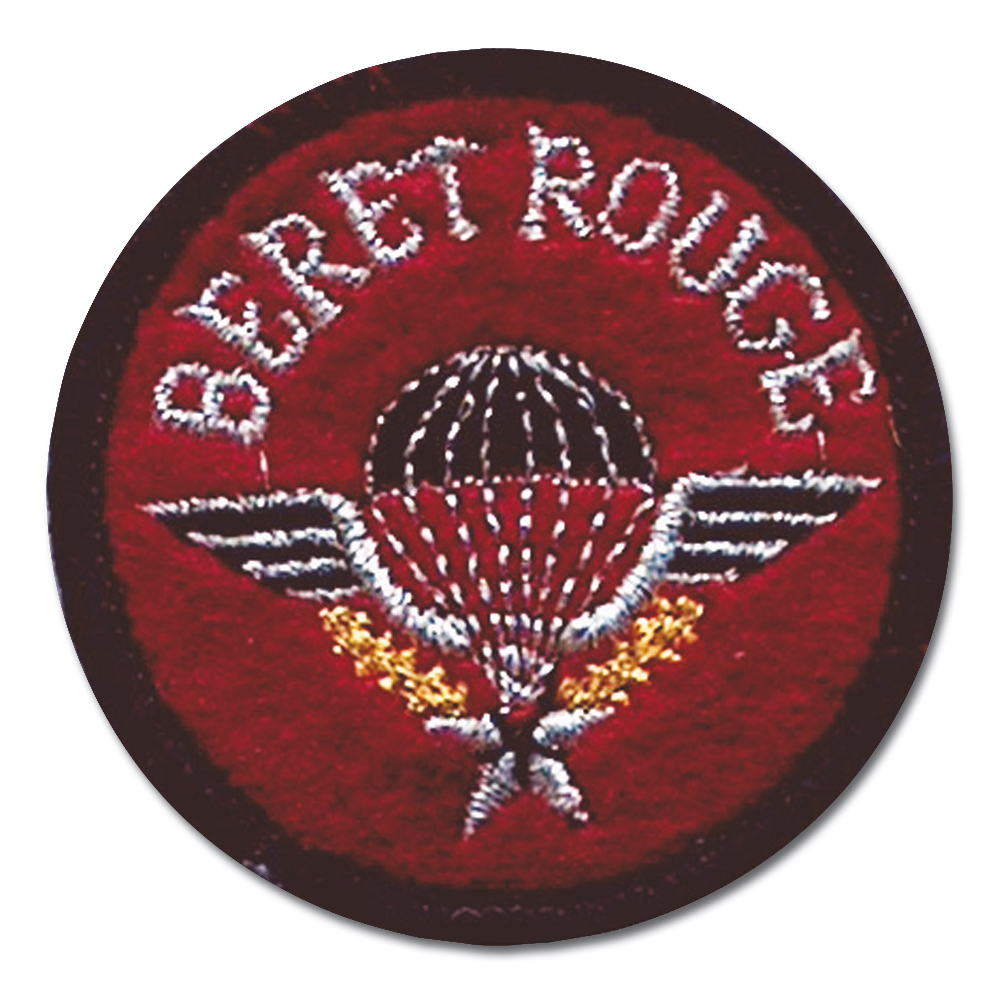 Insignia Patch Beret Rouge