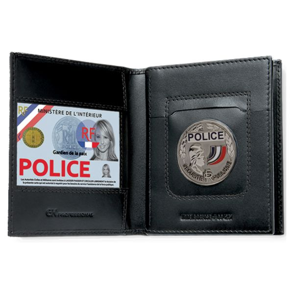 GK Pro 3 Compartment ID Holder Horizontal Armed Forces
