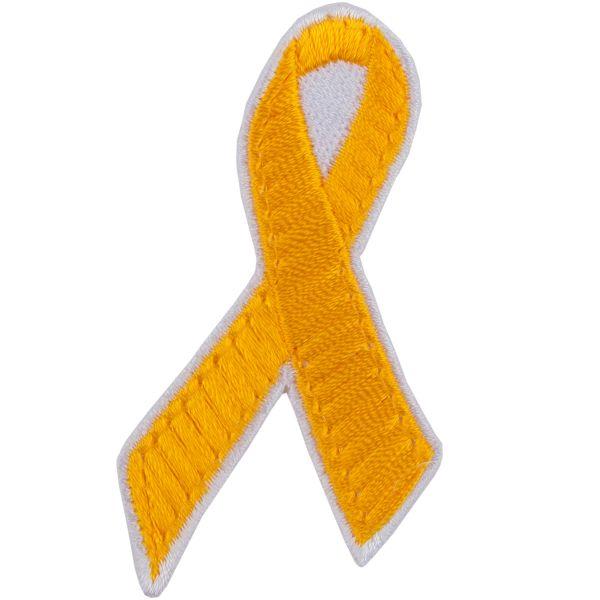 Café Viereck Patch yellow ribbon