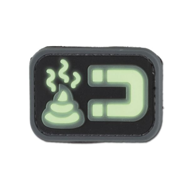 3D-Patch Shit Magnet Luminescent