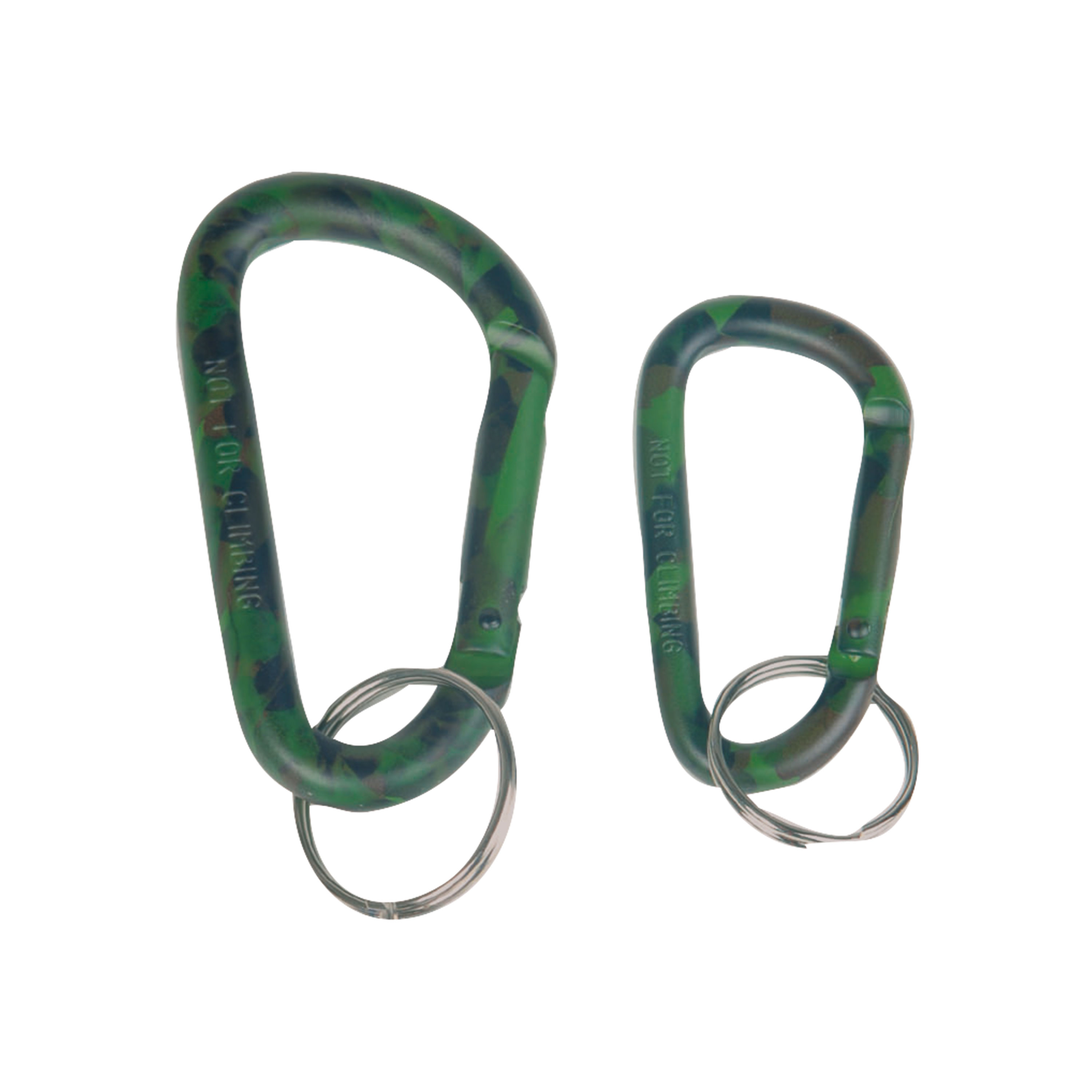 Tactical Carabiner, woodland 6 cm