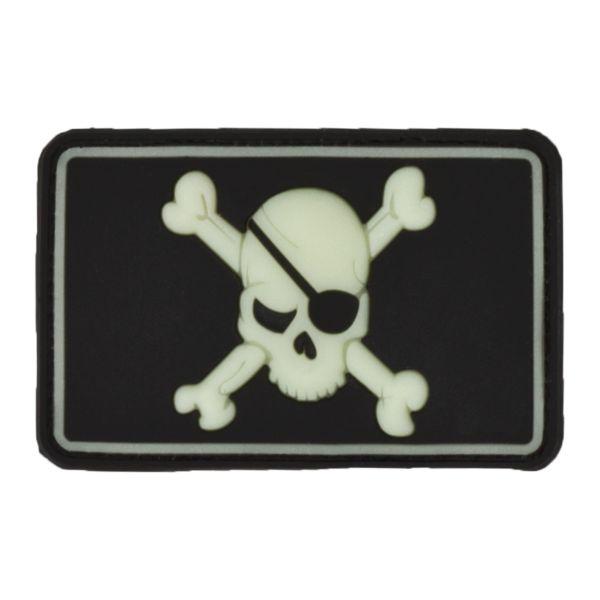 3D-Patch Pirate Skull GID