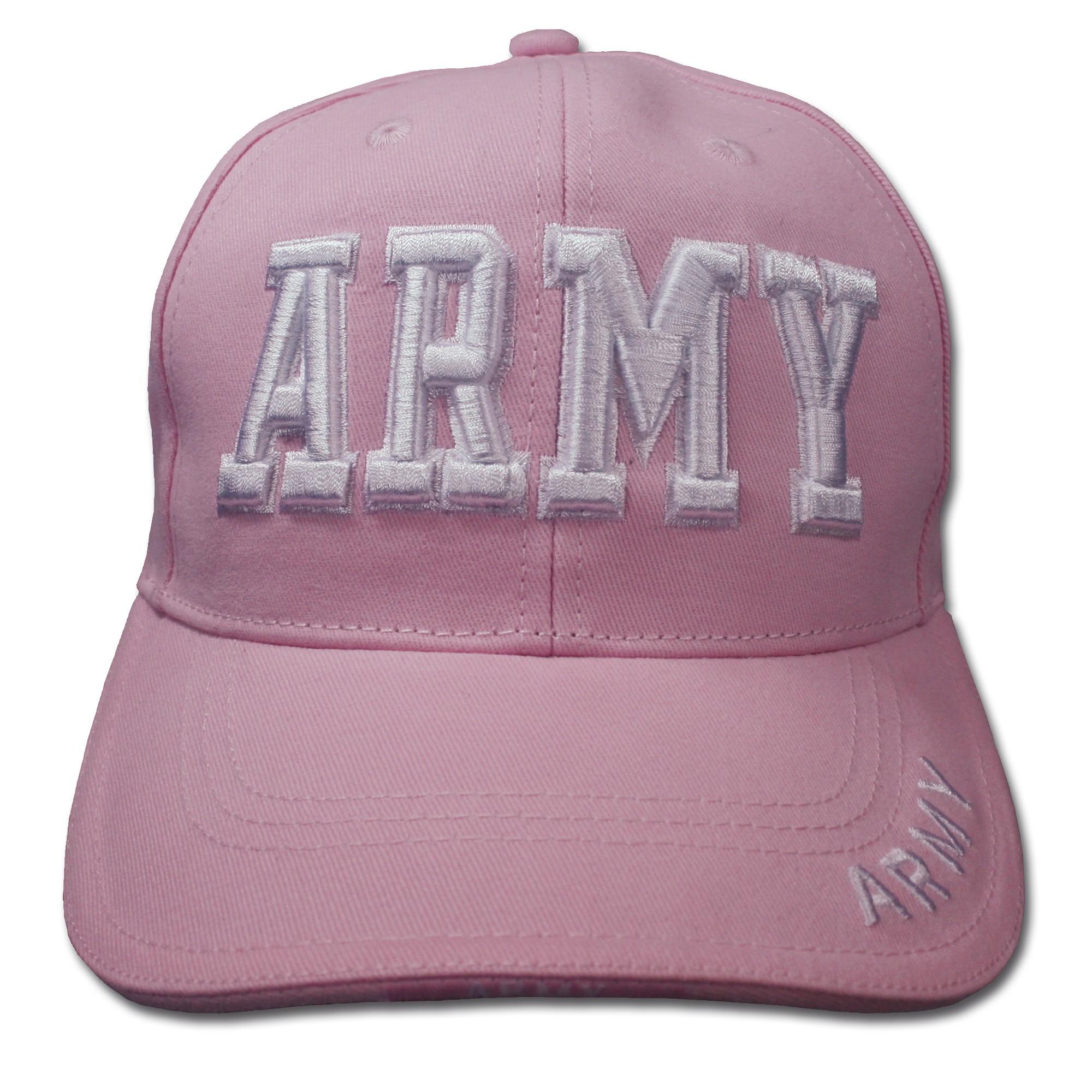 Baseball Cap ARMY pink