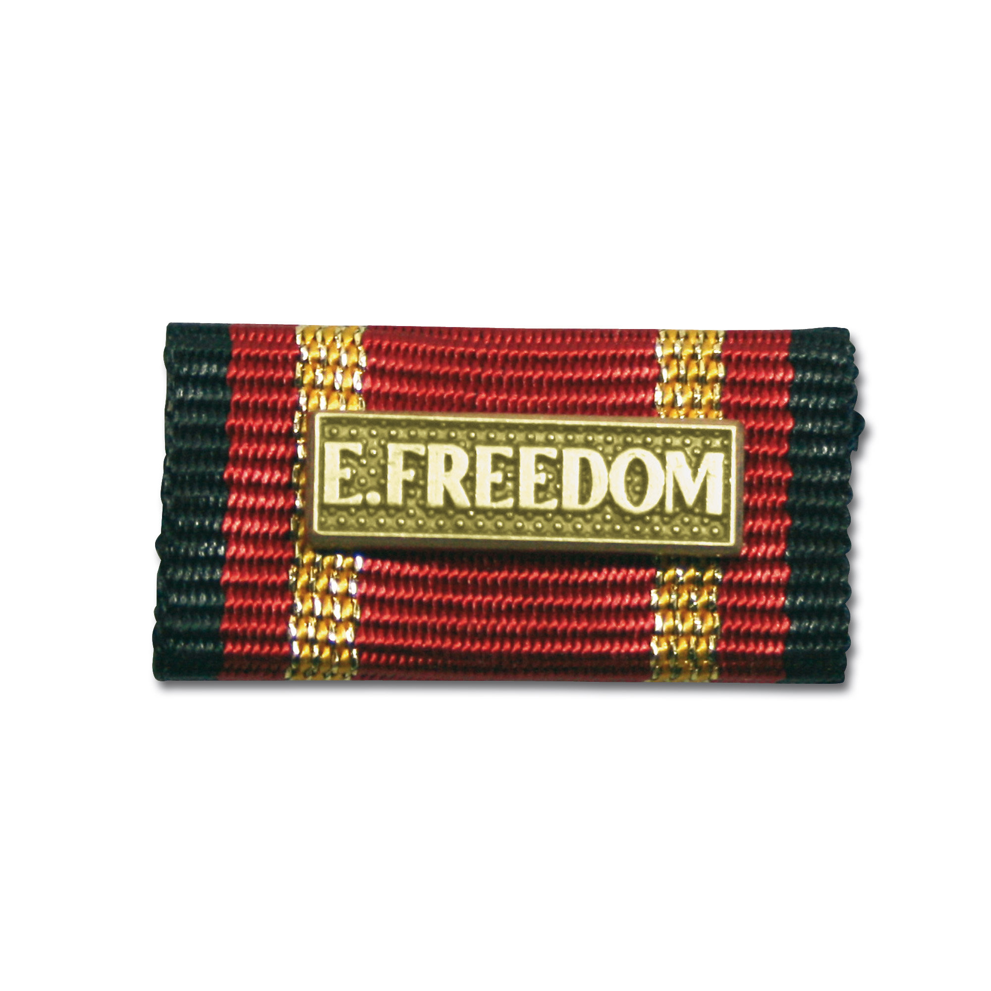 Service Ribbon Deployment Operation Enduring Freedom gold