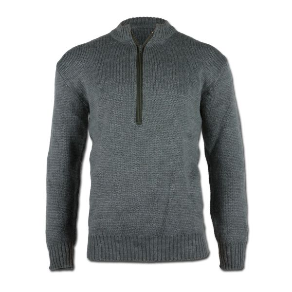 Swiss Pullover Like New gray