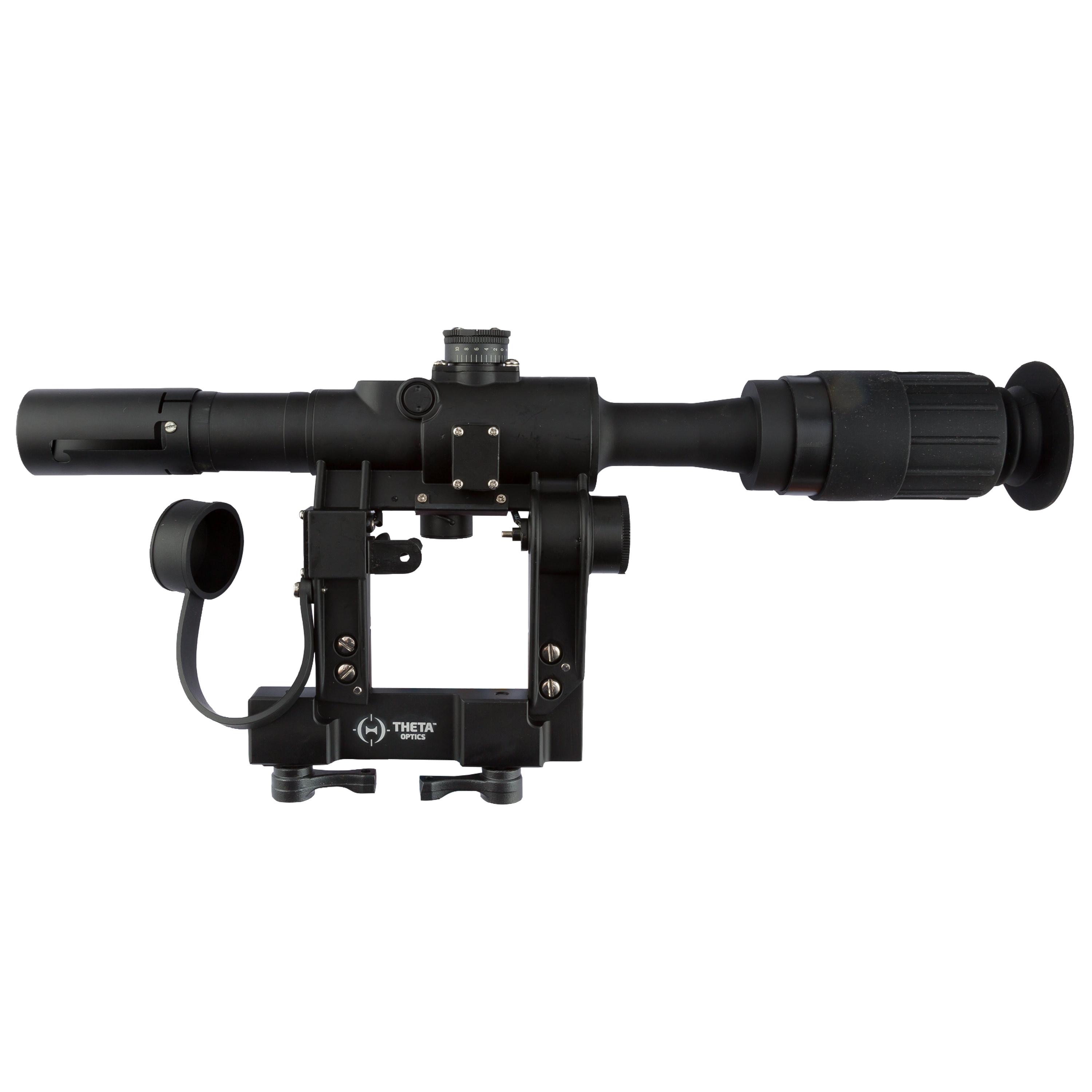THO PSO-1 Scope with AK Mount black