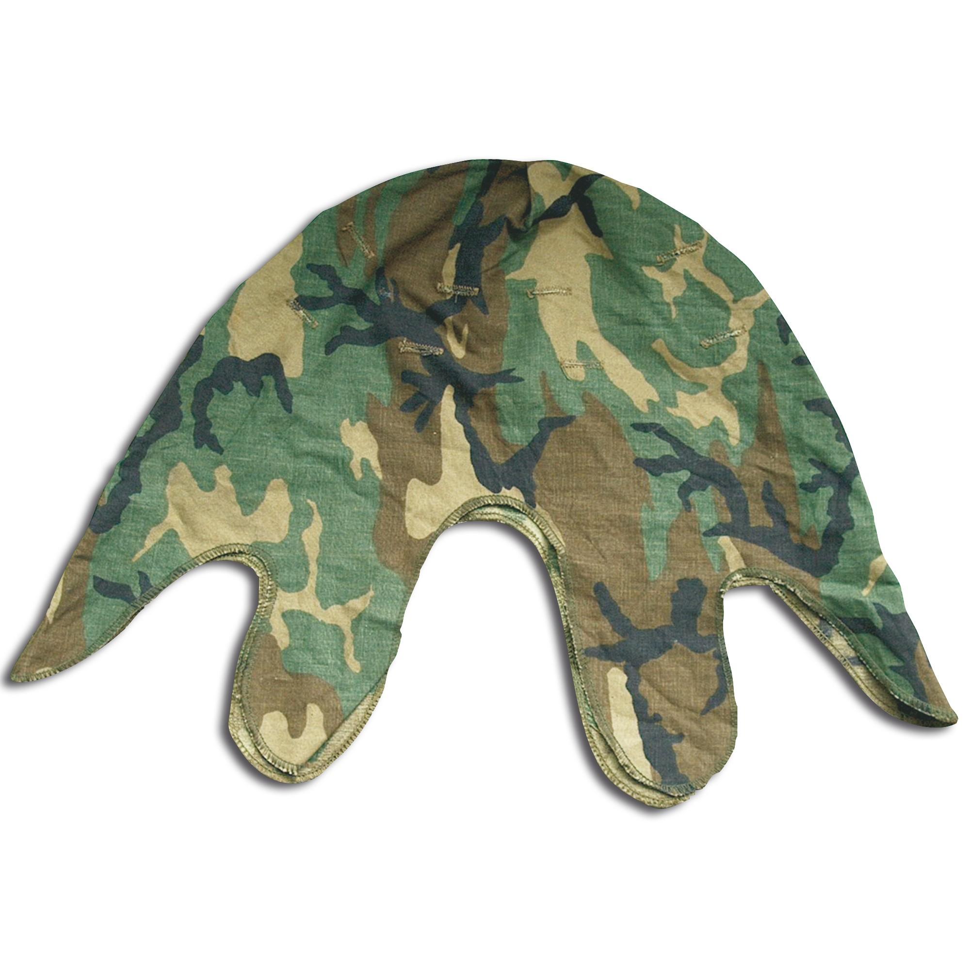Helmet cover US woodland