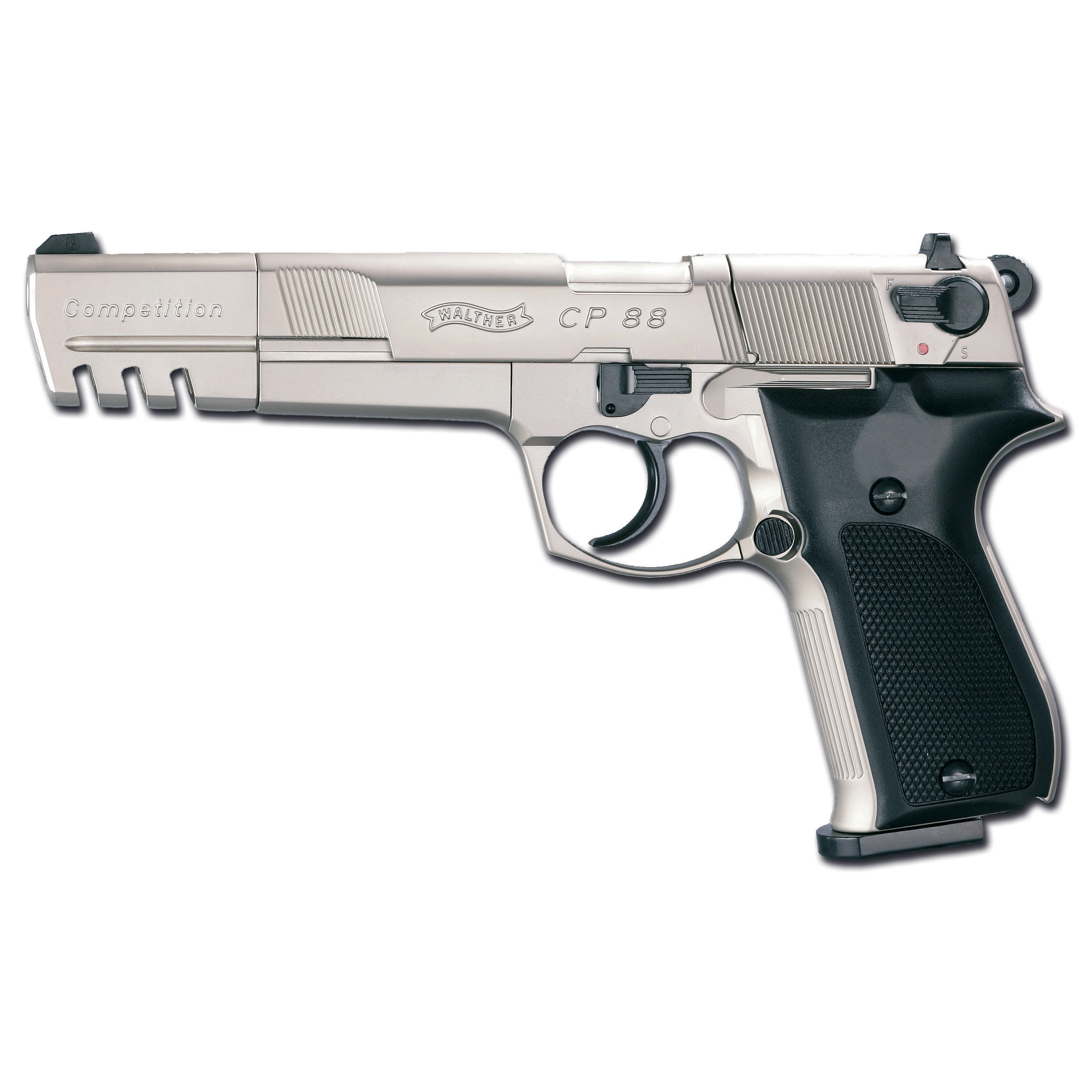 Pistol Walther CP88 Competition, nickel