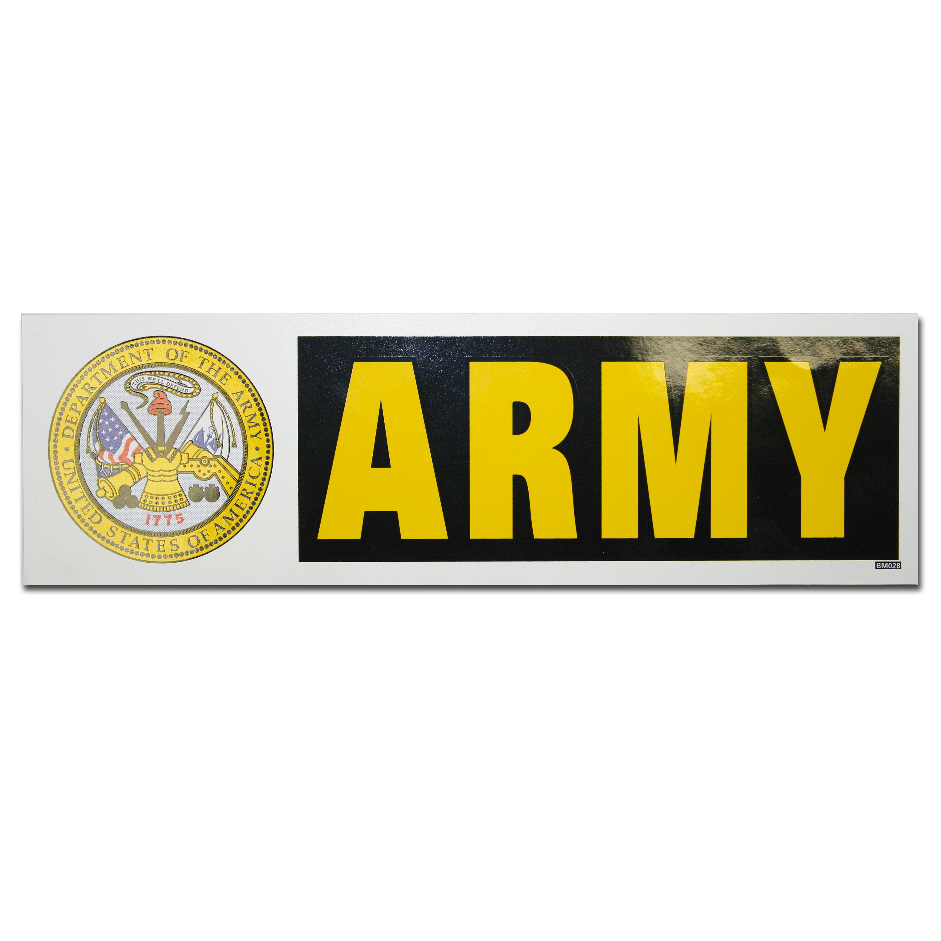 Bumper Sticker ARMY