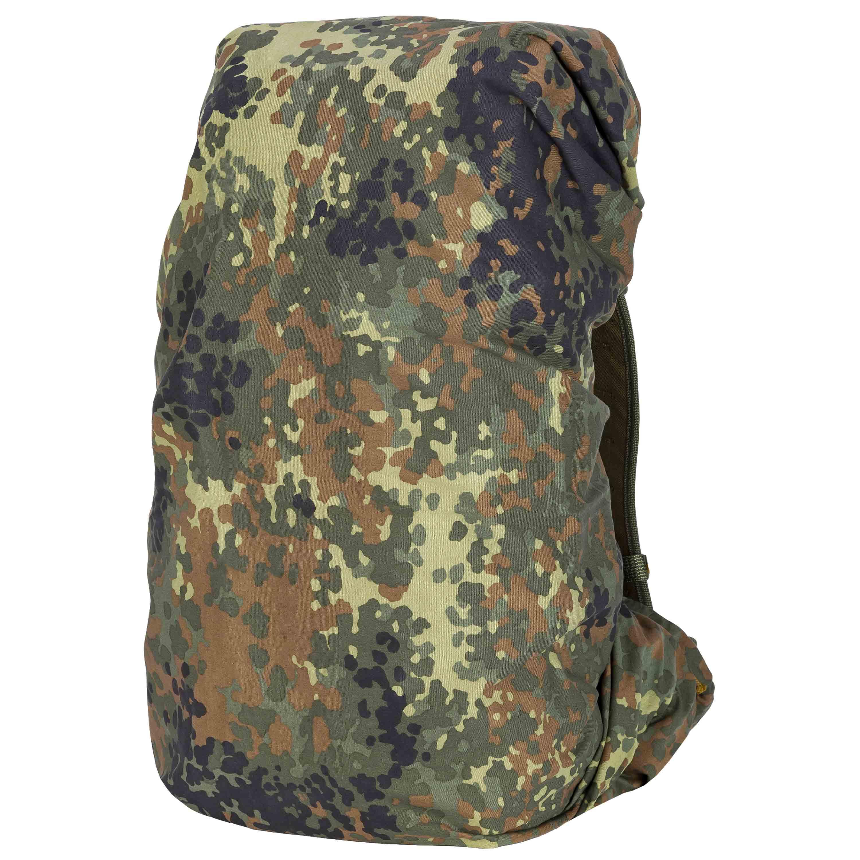 Used BW Backpack Cover flecktarn
