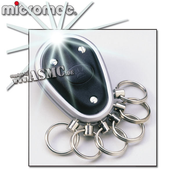 Micromec Key-Organizer black