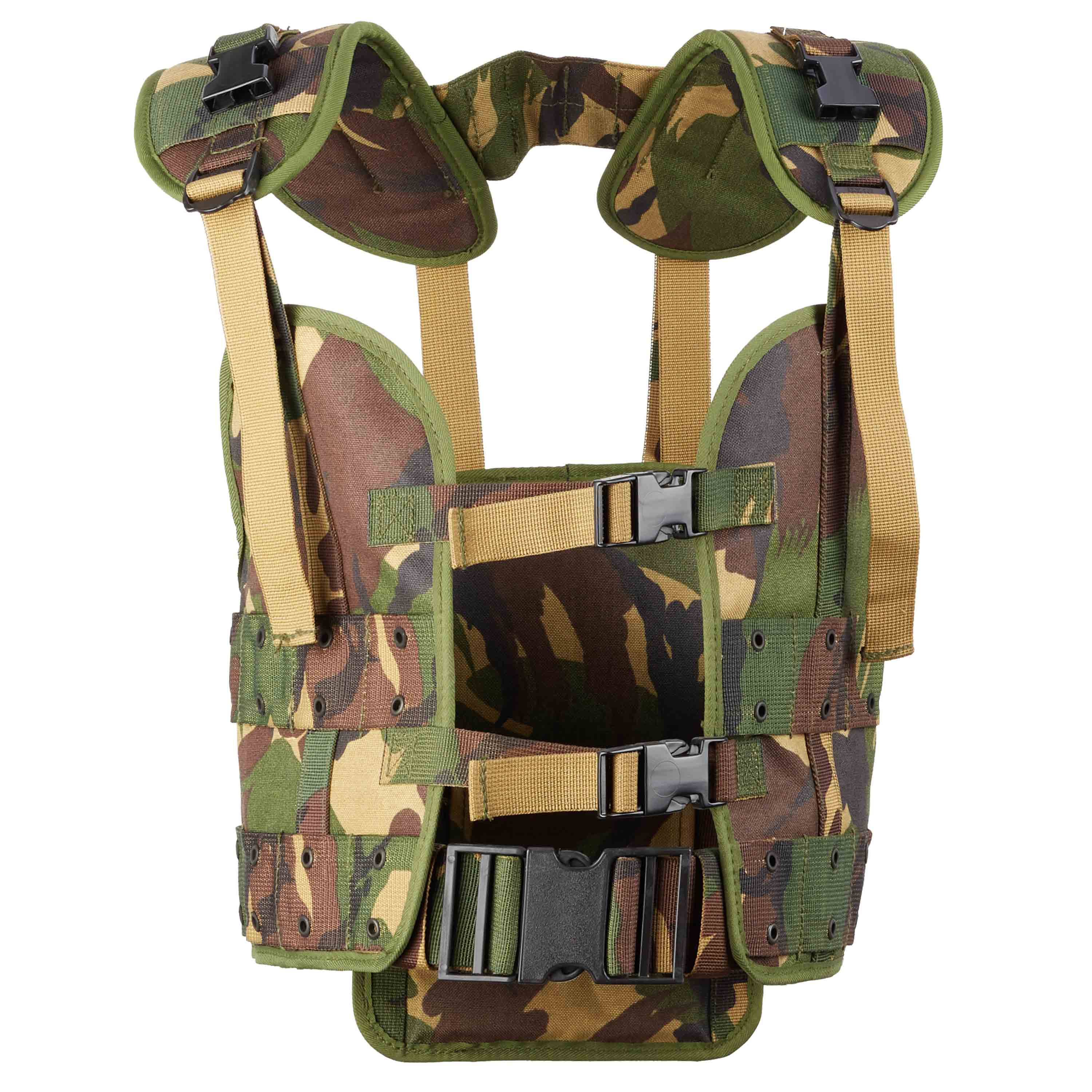 Dutch Load Bearing Vest Used camo