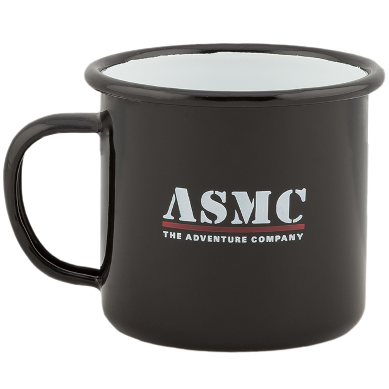 ASMC Enamel Mug 285 ml black