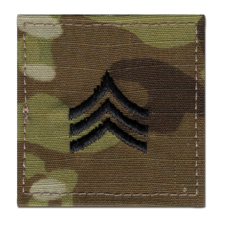 Rank Insignia U.S. Sergeant multicam