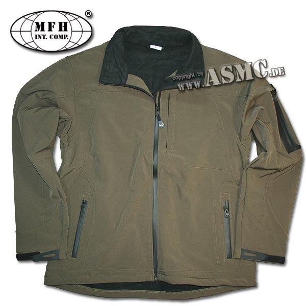Soft Shell Jacket Flying olive