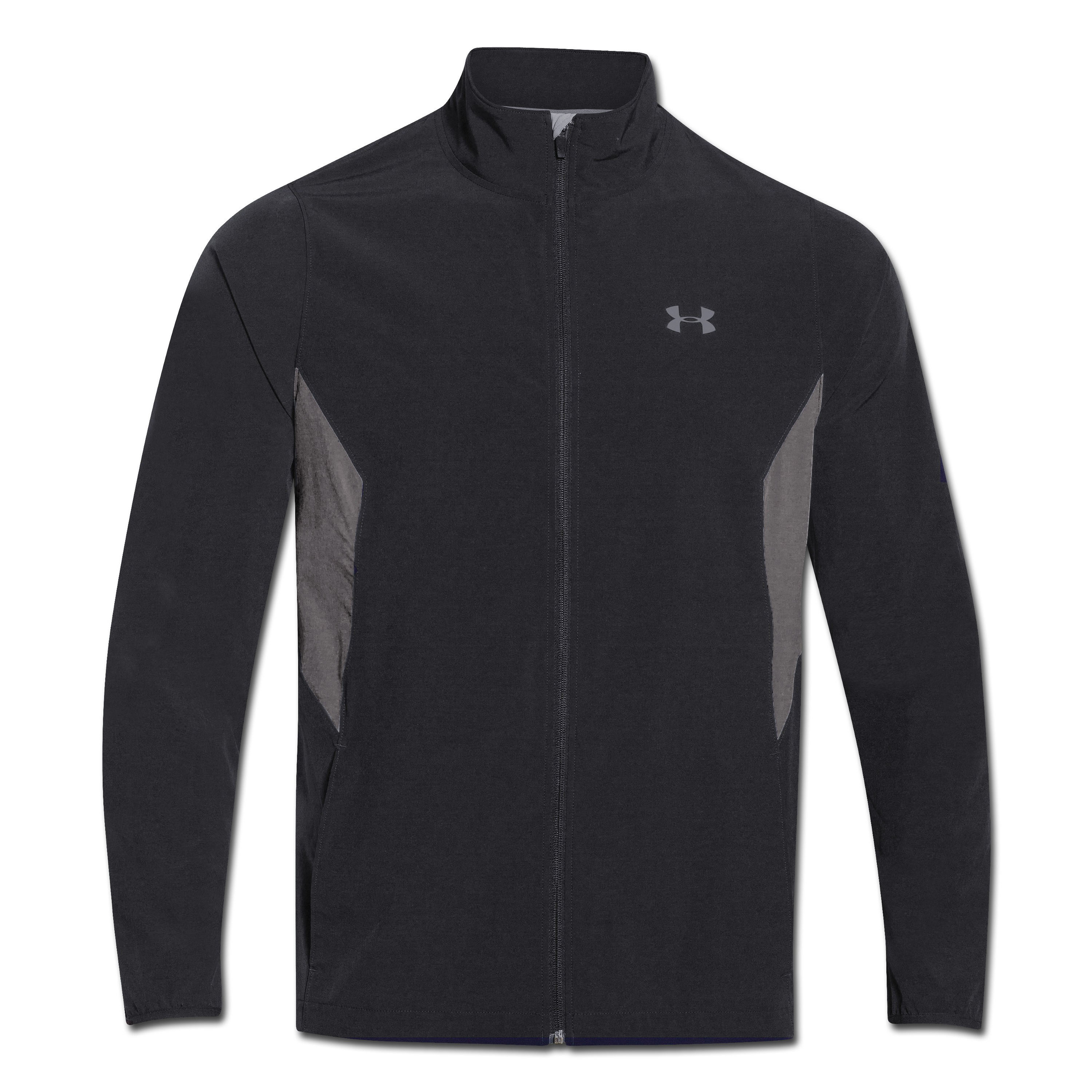 Under Armour Stretch Jacket Woven Track black