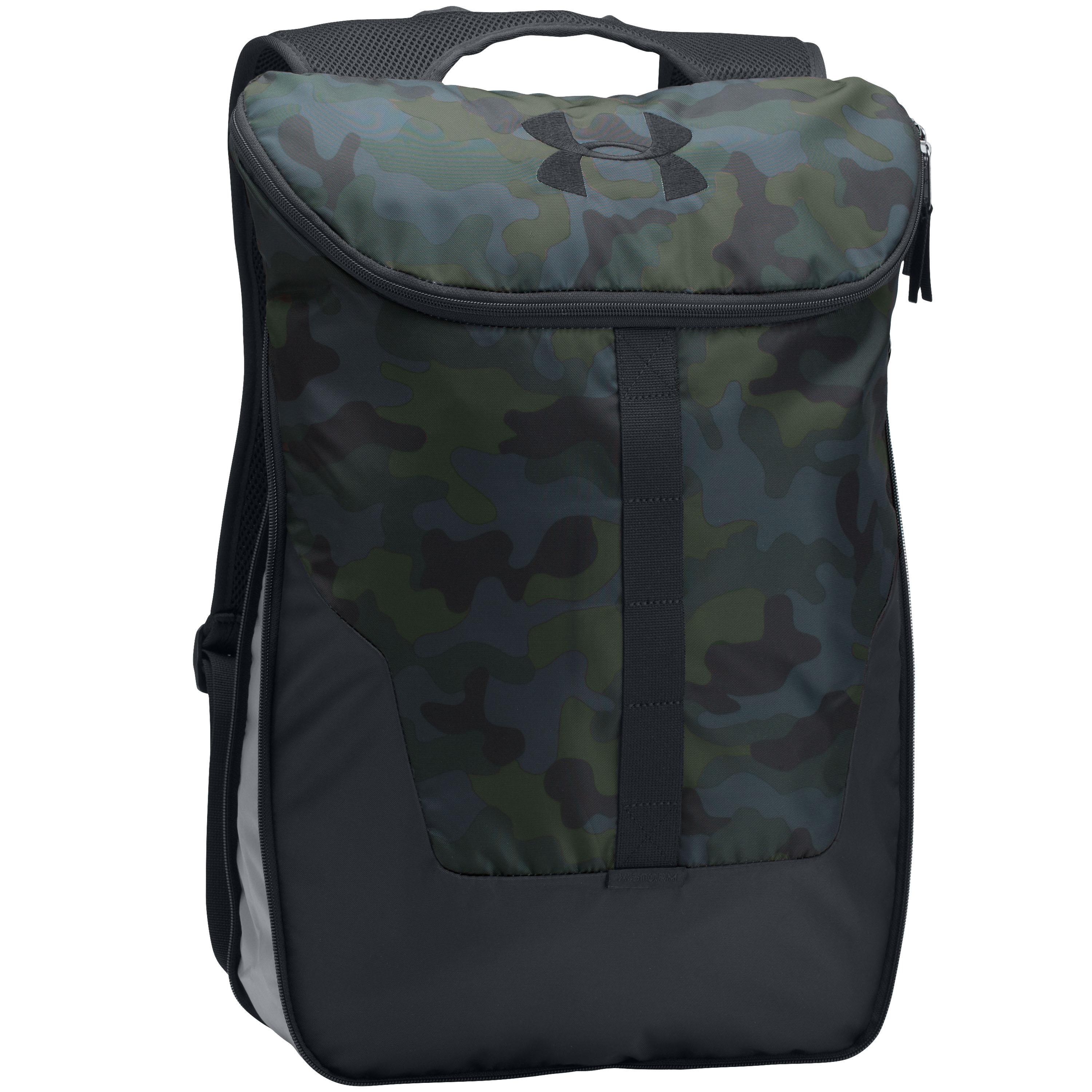 Under Armour Backpack Expandable Sackpack blue camo