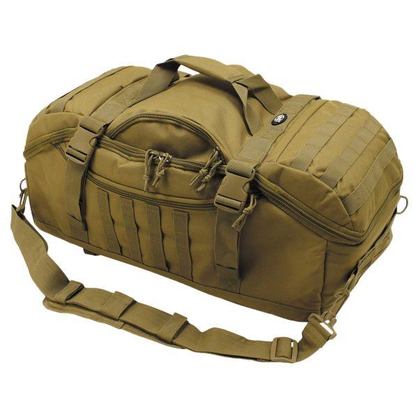 MFH Backpack Travel Bag coyote tan