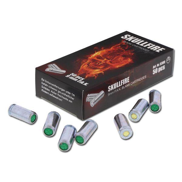 Blank Ammunition Skullfire 9 mm P.A.K.