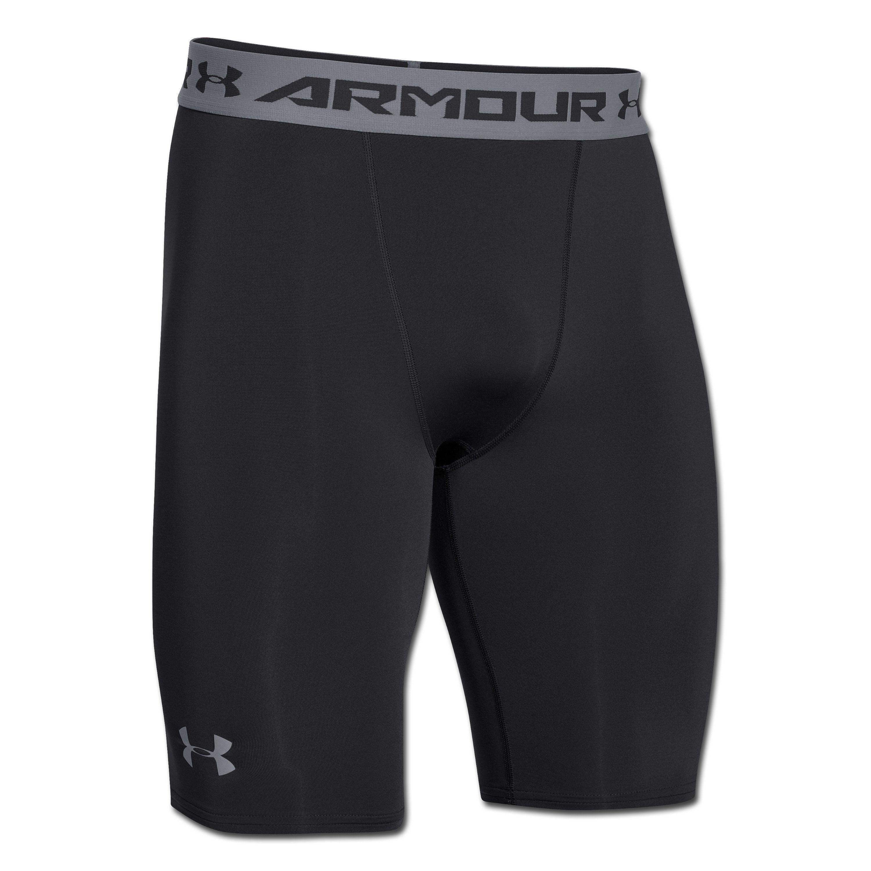 Under Armour HeatGear ARMOUR Compression Shorts Long black