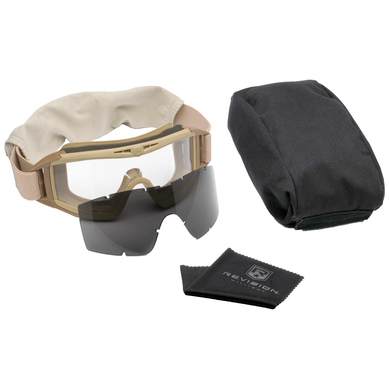 Revision Goggles Desert Locust Essential Kit tan