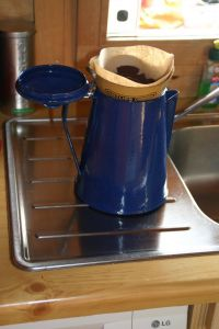 Kaffee kochen...