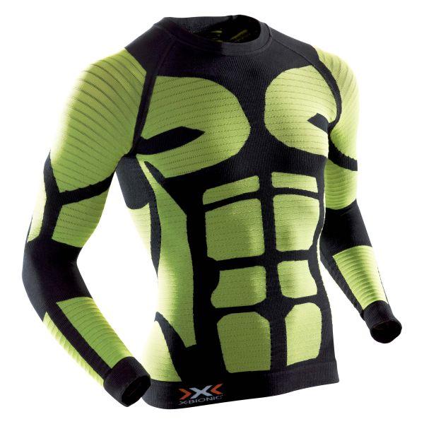 X-Bionic Shirt Precuperation black/yellow