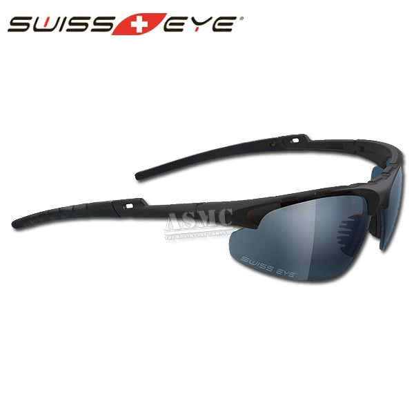 Swiss Eye Safety Glasses Apache black