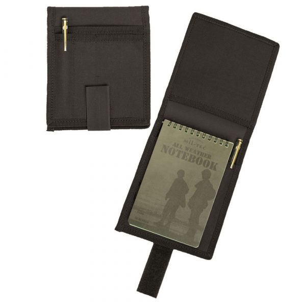 Mil-Tec BW Notepad Pouch A6 black