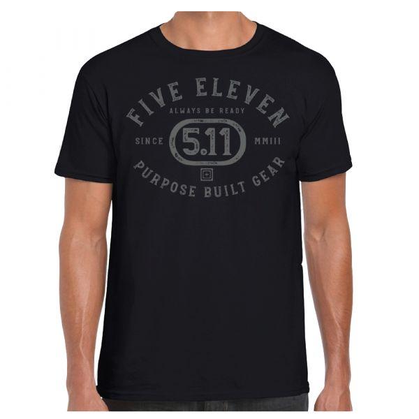 5.11 T-Shirt Purpose Crest black