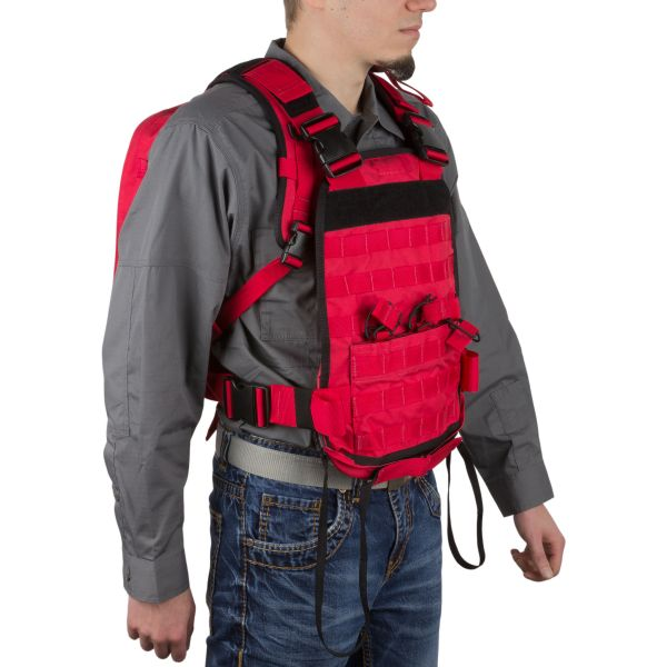 Wraith Tactical Backpack CARR Pack red