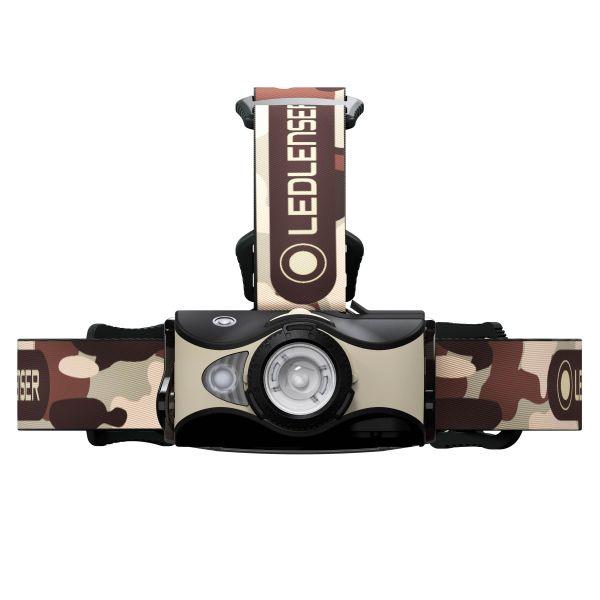 Ledlenser Headlamp MH8 2020 black sand