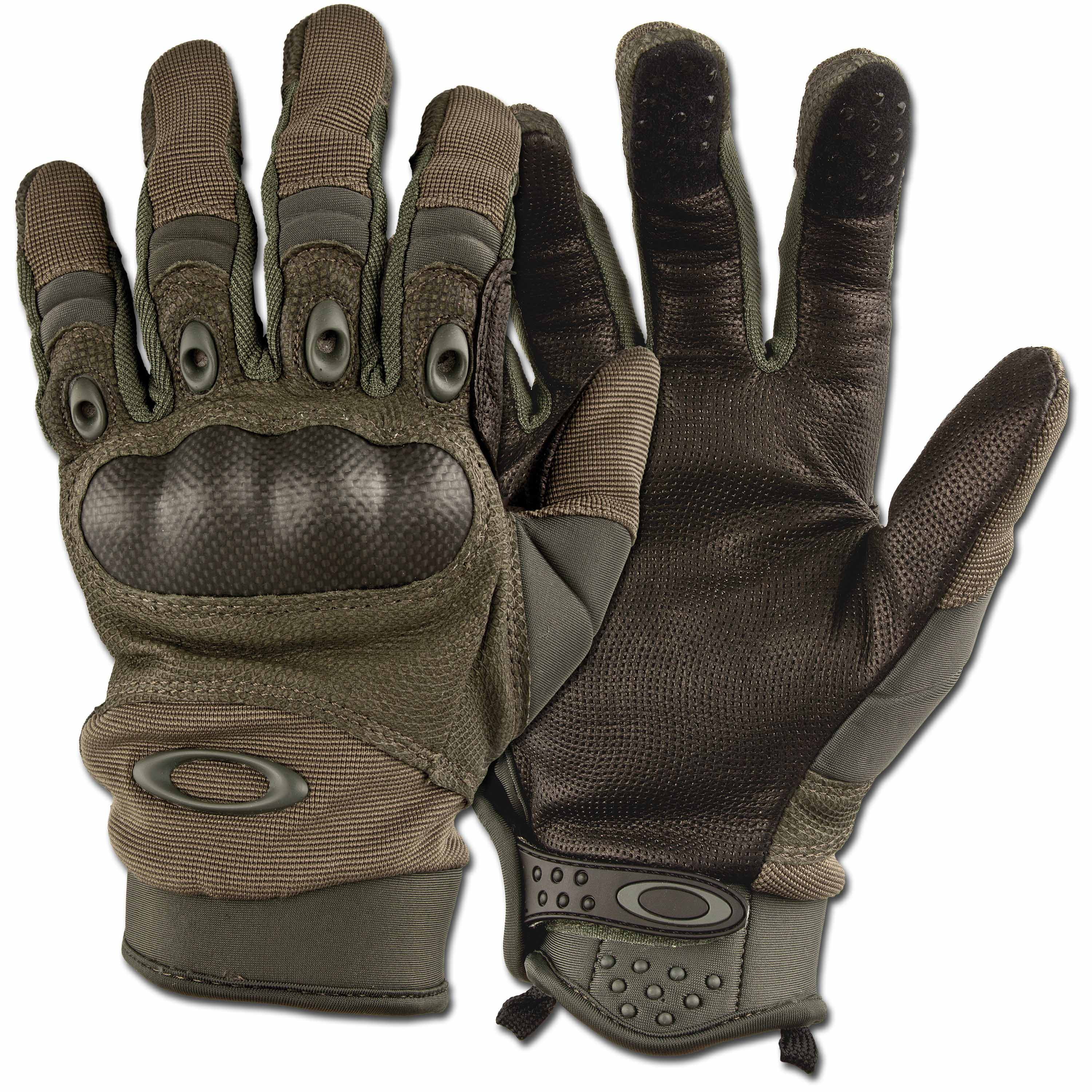 Purchase The Gloves Oakley Pilot Glove Olive By Asmc