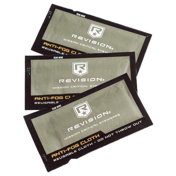 Revision Anti-Fog Cloth 10 Pack