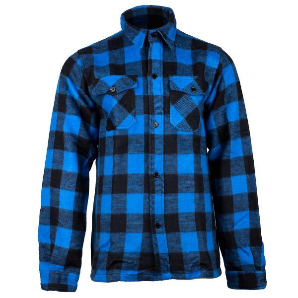 Mil-Tec Lumberjack Shirt black/blue